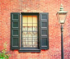 Philadelphia Federal Exterior Shutters
