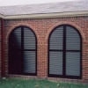 Exterior Arched Shutters