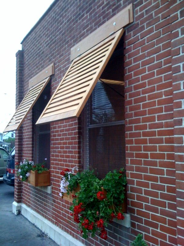 How To Build Scissor Arm Awning Window Flower Boxes