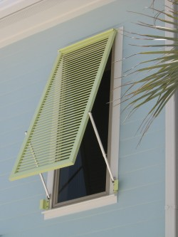 Aluminum Hurricane Shutters with Adjustable Arms