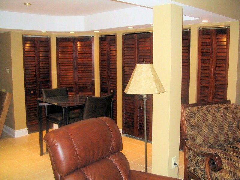 Basement Louvered Doors