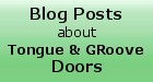 Read our blog and learn more about Kestrel Tongue and Groove Doors