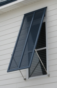 Aluminum Hurricane Shutters
