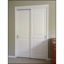 raised panel sliding closet doors
