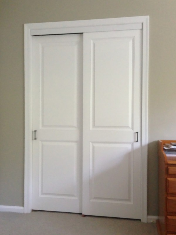 Great Colonial Raised Panel Sliding Closet Doors