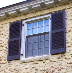 exterior plantation shutters