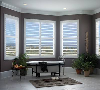 Bathroom Faux Plantation Shutters 