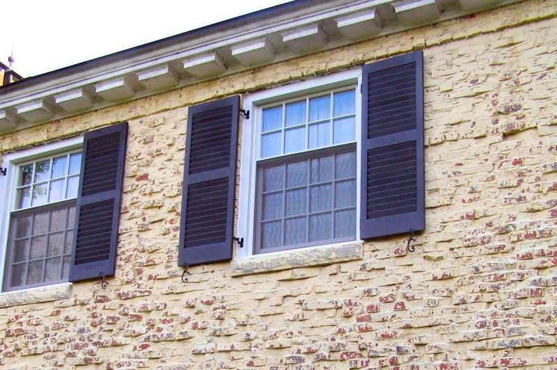 Fixed Plantation Exterior Shutters