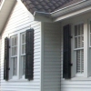 Traditional Operable Louvered Exterior Shutters