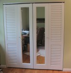 Louvered and Mirrored Bifold Doors