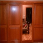 Panel & Mirror Sliding Closet Doors
