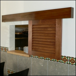 wall mounted sliding doors