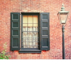 Window shutters photo gallery for Recessed panel shutters