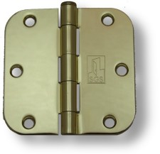 Polished Brass Hinges