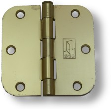 Bright Brass Hinges