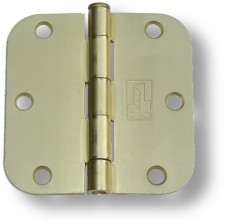 Brushed Brass Hinges