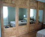 Sliding Closet Doors w/ Removable Mirrors