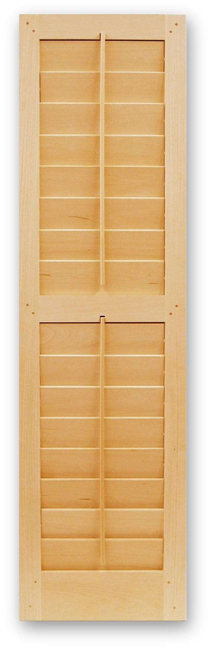 Operable louvered shutters for Interieur shutters