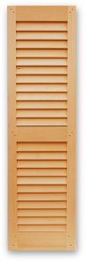 Interior and Exterior Shutters with Operable 2.1/2'' Plantation Louvers