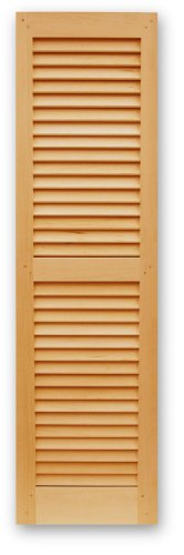 Interior and Exterior Fixed Louvered Shutters