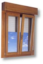 Tilt turn window with integrated roll down shutters
