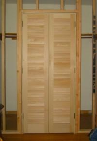 Framed Opening For A Closet Door