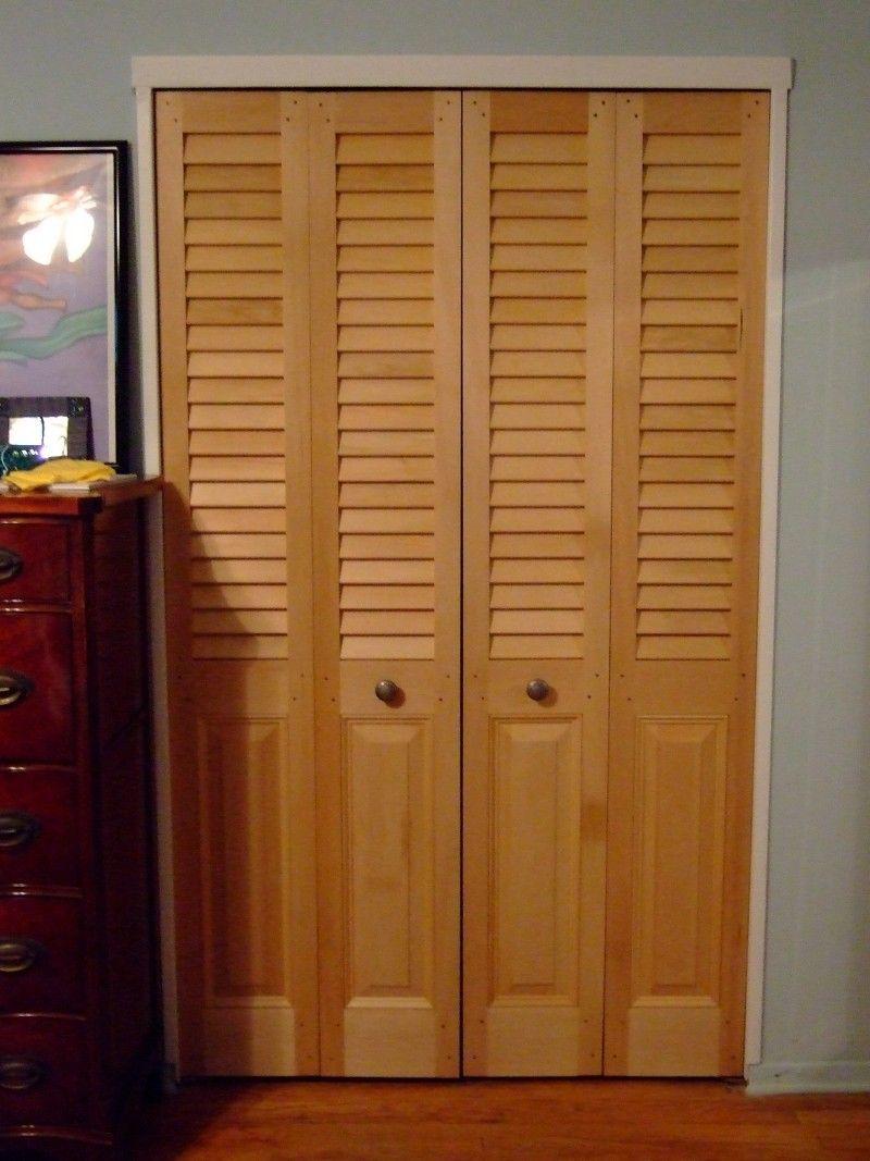 Updating Bifold Closet Doors Sevenstonesinc